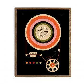 Audiotape Black